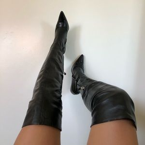 Colin Stuart thigh high boots